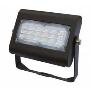 Orbit Flood Light, LED, 30W, 120-277V, 3000K, Warm White, Trunnion Mount - Bronze