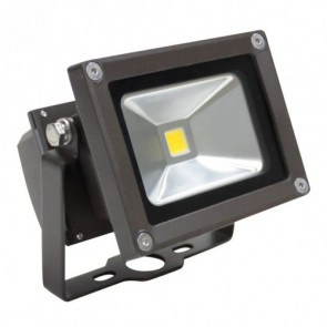 Orbit Flood Light, LED Compact, 10W, 120-277V, 3000K, Warm White - Bronze