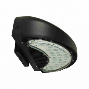 Orbit Wall Pack, LED, 39W, 120-277V, 4700K, Cool White w/ Weatherproof Gasket - UV Resistant Bronze