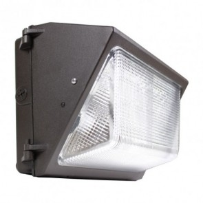Orbit Wall Pack, LED 80W 120V-277V, 3000K, Cool White - Bronze