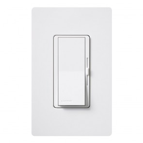 Lutron DVCL-153P-WH Diva Dimmable CFL/LED Dimmer | Wall Dimmer Switches