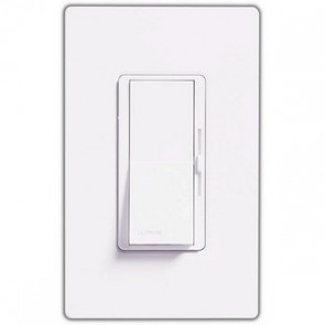 Lutron DVLV-600P-WH Diva Dimmer, Magnetic Low Voltage, 600W