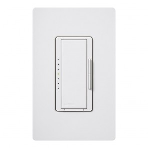 Lutron MACL-153M-WH Maestro 150-Watt Multi-Location CFL/LED Digital Dimmer | MACL-153M-WH