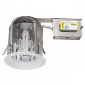 "Elco 6"" IC Vertical CFL Remodel Downlight 18W IC AIRTIGHT"