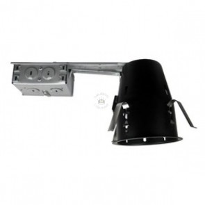 "Elco 4"" Line Voltage Remodel Airtight Housing"