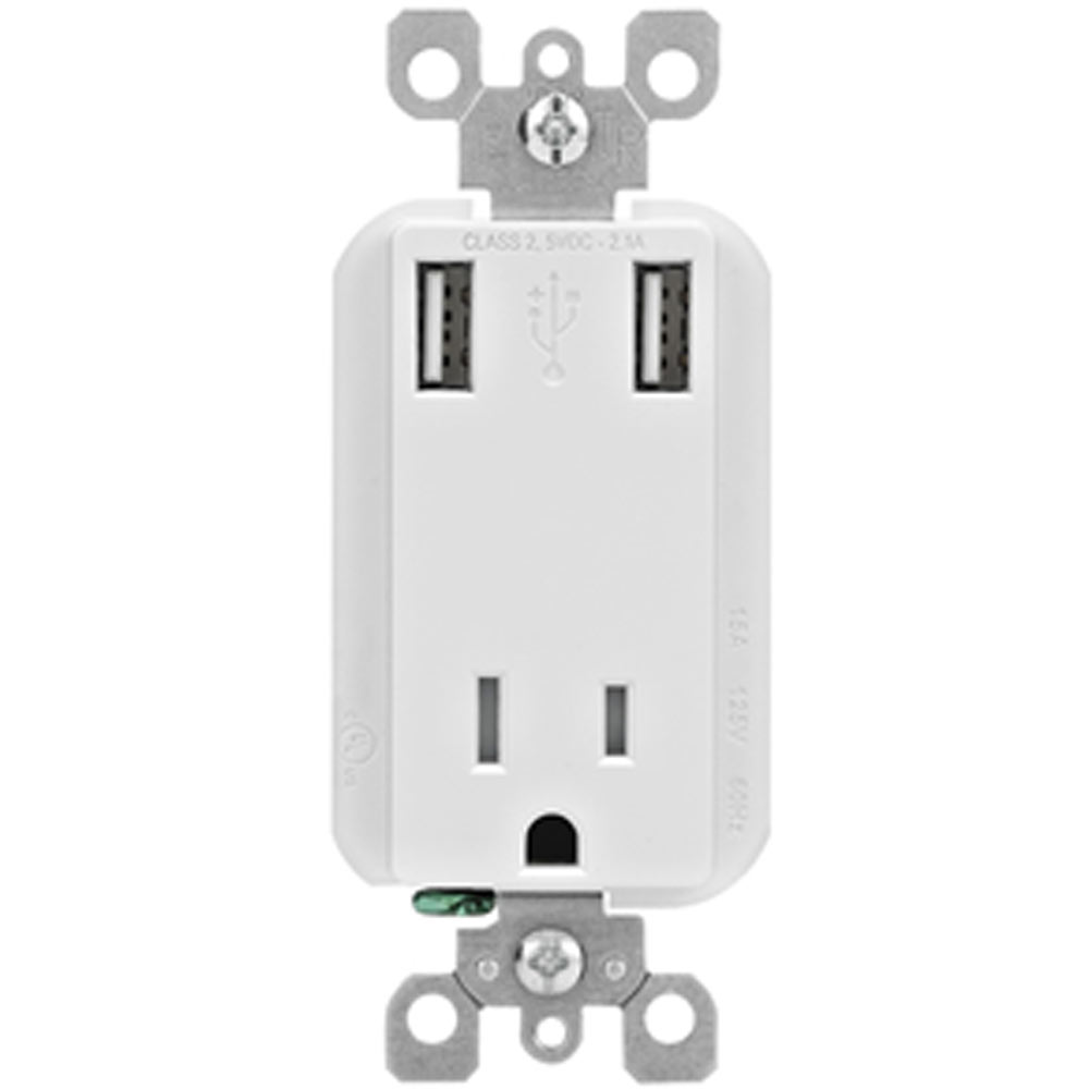 Leviton Receptacle|Combo Receptacle|Tamper-Resistant Receptacle