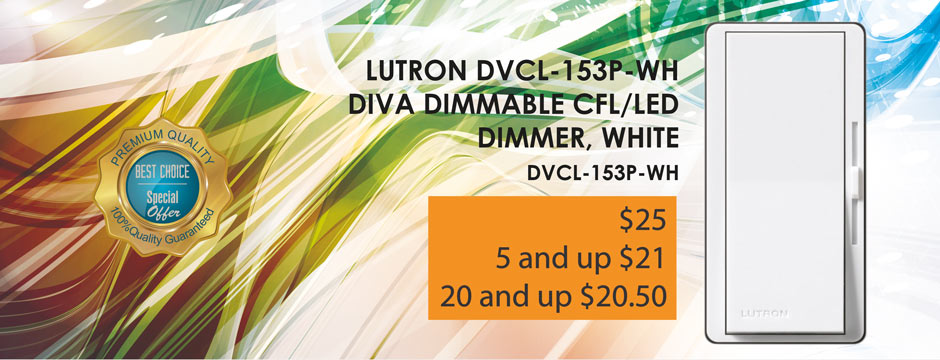 Lutron Dimmable CFL LED