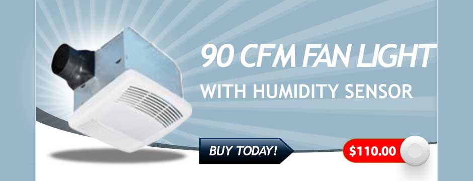 80 CFM Fan Light